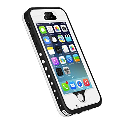 Amazon.com: Carcasa para iPhone 5S/SE, resistente al agua, a ...