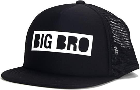 af7e8aac9 Amazon.com: Kids Trucker Hat Big BRO Cap Big SIS Hats Lil BRO Lil ...