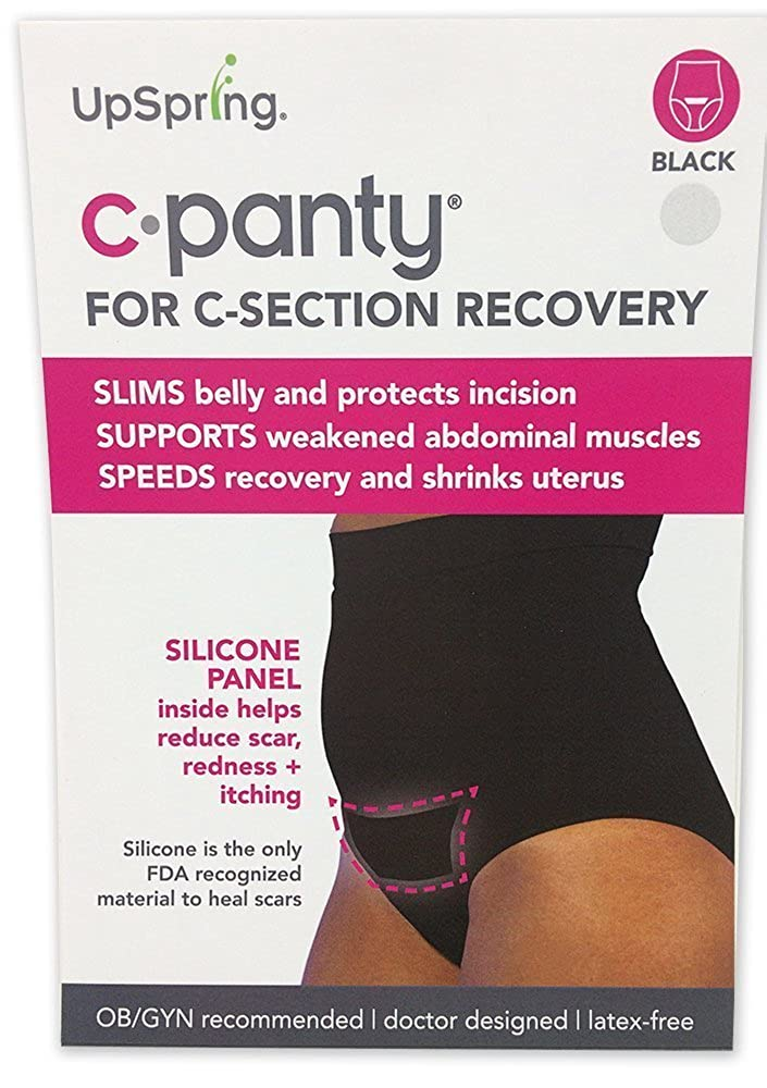 UpSpring C-Panty C Section Underwear for Support Recovery & Slimming - High Waisted Panty with C Section Scar Treatment UpSpring Baby
