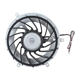 Cooling Fan PS3, Replacement Internal CPU Cooling Fan Fast Heat Dissipation Cooling Fan for PS3.