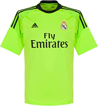 adidas Camiseta Portero Real Madrid 13-14 Verde Talla S: Amazon.es: Deportes y aire libre