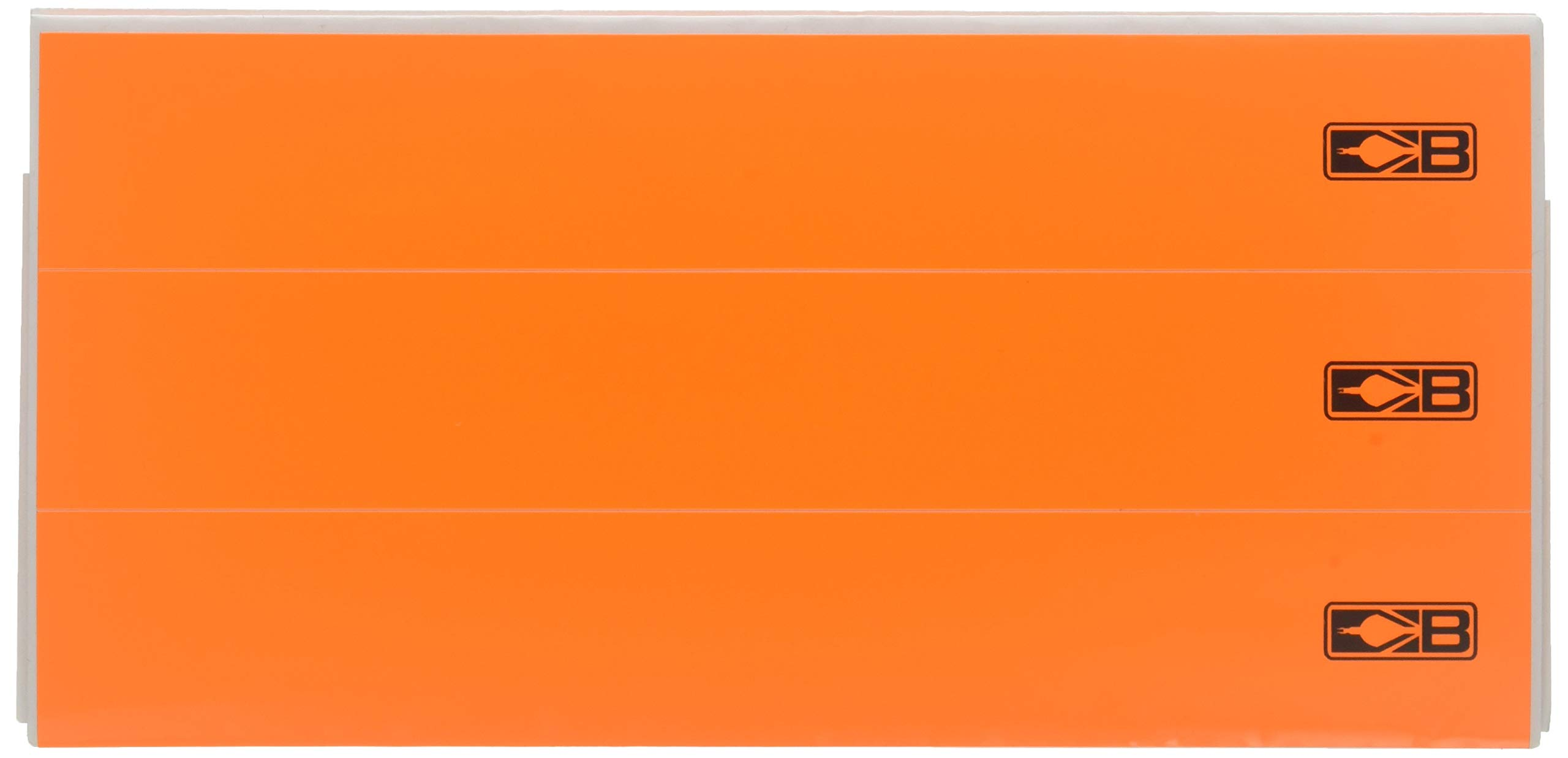 Bohning 7'' Solid Wrap 7'' Neon Orange Standard Arrow Wrap, 12pk by Bohning