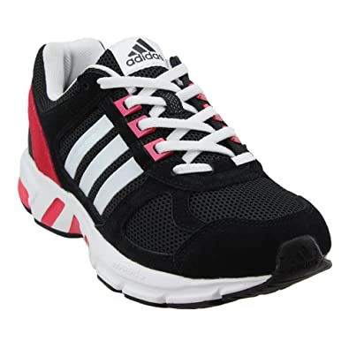 buy online edc22 c3e0f adidas Women's Equipment 10 Core Black/Running White Pink Ankle-High Tennis  Shoe - 7M