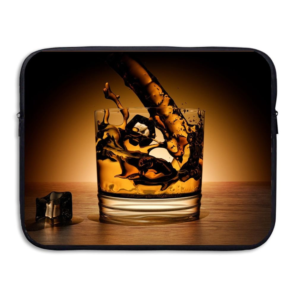 Mr.Roadman Laptop Sleeve Bag Wine In Glass Art Briefcase Sleeve Bags Cover Computer Liner Case Waterproof Computer Portable Bags
