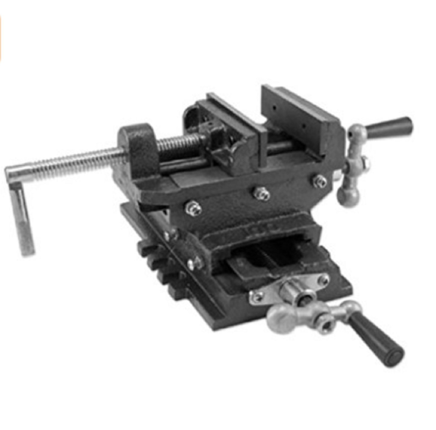 USA Premium Store '' Cross Drill Press Vise Slide Metal Milling 2 Way X-Y Clamp Machine Heavy Duty by USA Premium Store