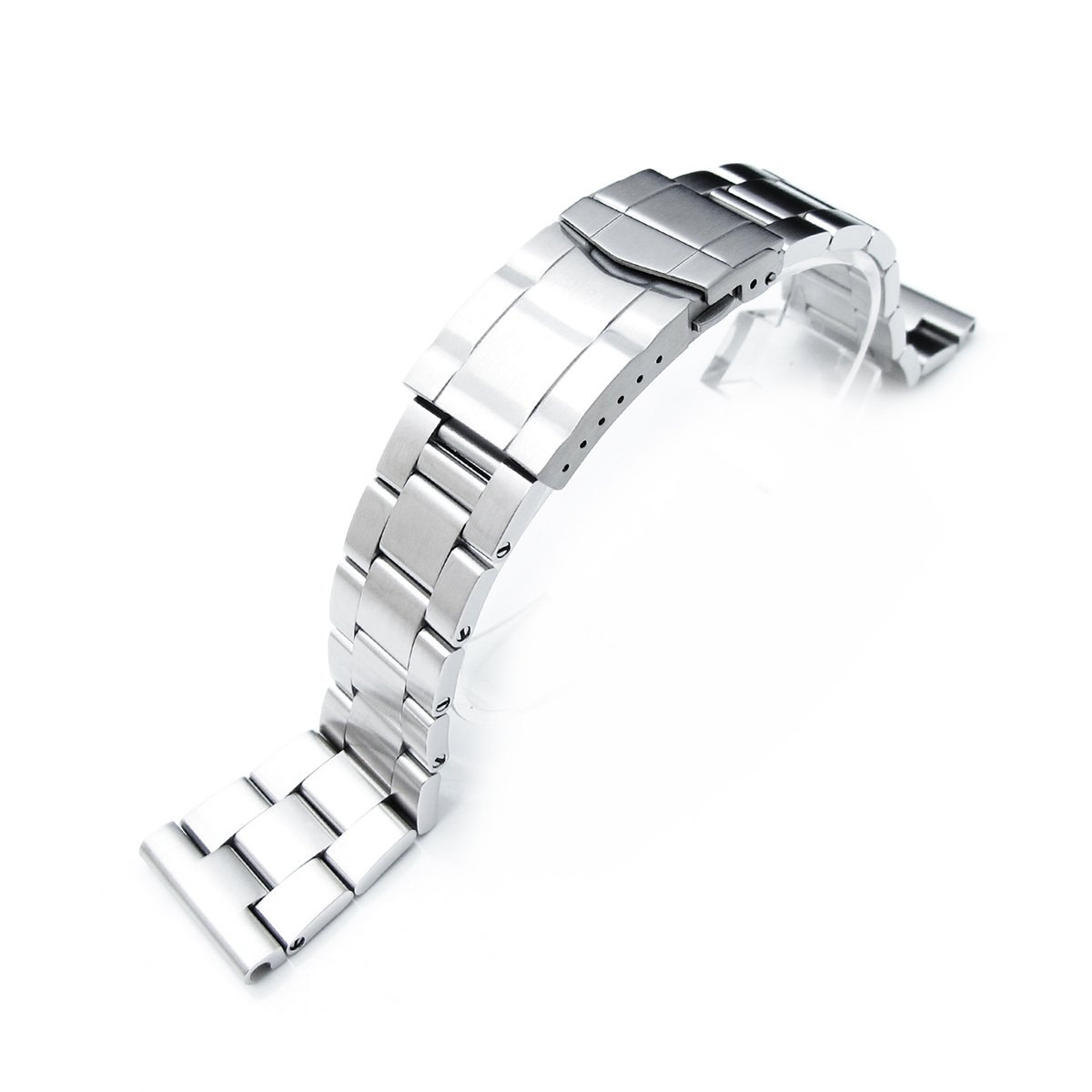 19mm Super Oyster watch band universal straight end version, Solid Submariner Clasp