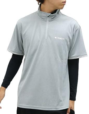 bcc38396de6a05 [ケイパ] ランニングウェア ドライ Tシャツ コンプレッション インナー セット メンズ ミディアムグレー M