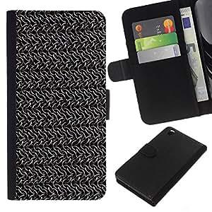 Be-Star la tarjeta de Cr¨¦dito Slots PU Funda de cuero Monedero caso cubierta de piel Para HTC DESIRE 816 ( Metallo )