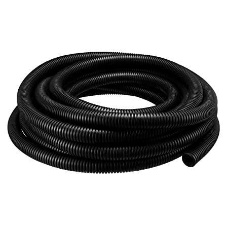 5M Length 20mm Outside Dia Corrugated Bellow Conduit Tube for Electric Wiring EL
