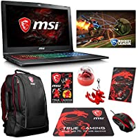 MSI GF62 7RE-1452 Enthusiast (i7-7700HQ, 32GB RAM, 250GB NVMe SSD + 1TB HDD, NVIDIA GTX 1050Ti 4GB, 15.6 Full HD, Windows 10) Gaming Notebook