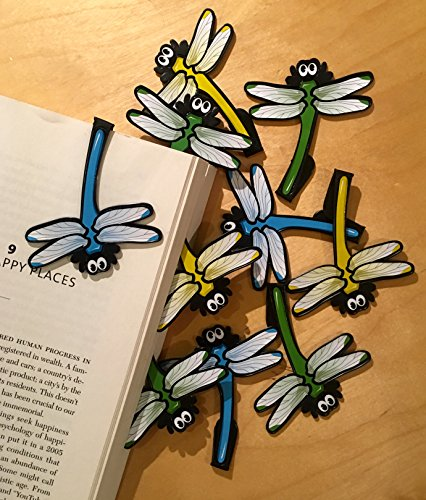 (Dragonfly Bookmarks (Set of 10))