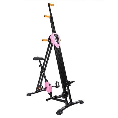 Befied Vertical Gym Appareil de Sport Multi-fonctionnel de Formation Appareil de Fitness Pliable Réglable en Hauteur Ergomètre Entraîneur de Jambe et Bras des Adultes Equipement de Conditionnement Physique