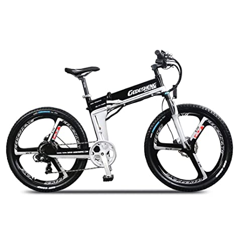 Amazon Com Lang Tu 26 Folding Electric Bike Mountain Bike 240w