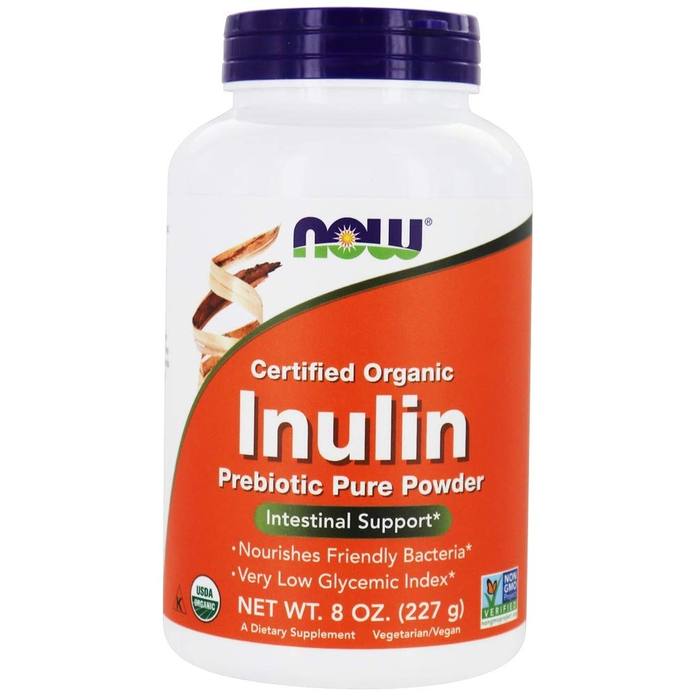 Now Foods - Inulin Powder 8 Ounces