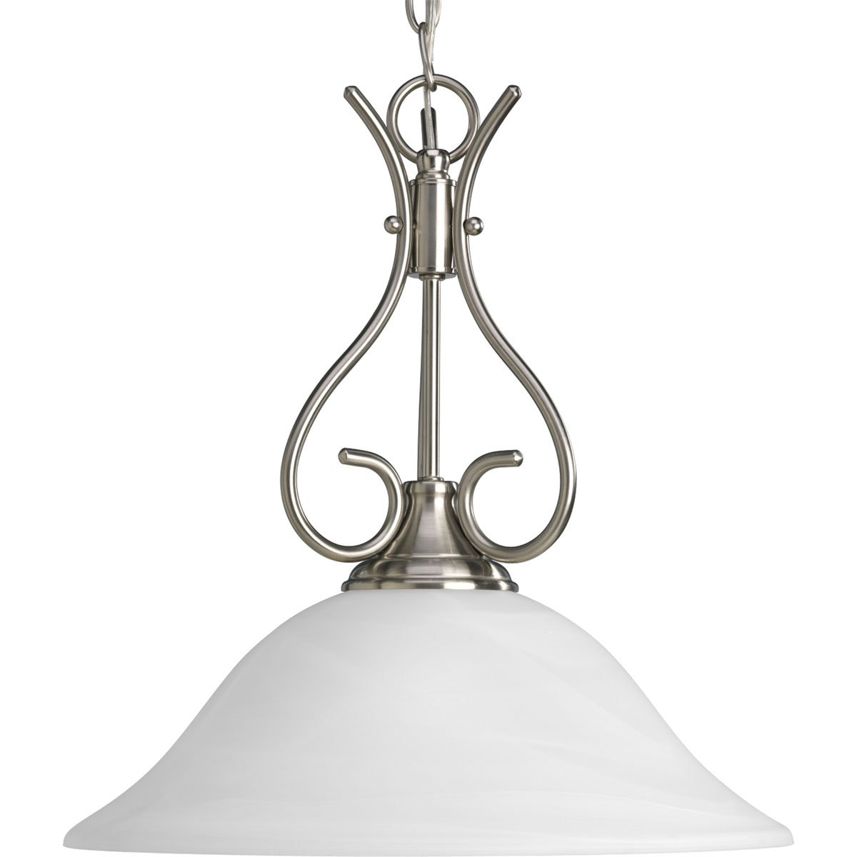 Progress Lighting P5091-20 1-Light Pendant, Antique Bronze