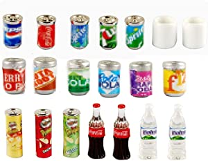 NWFashion Miniature Drinks Bottle (20pcs Mix)