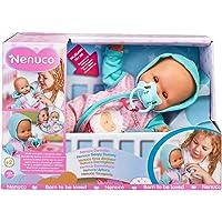 Nenuco - Dormilón, muñeca de bebé Que Duerme y Cierra los Ojos, con Chupete y Pijama, Juguete indicado para el…