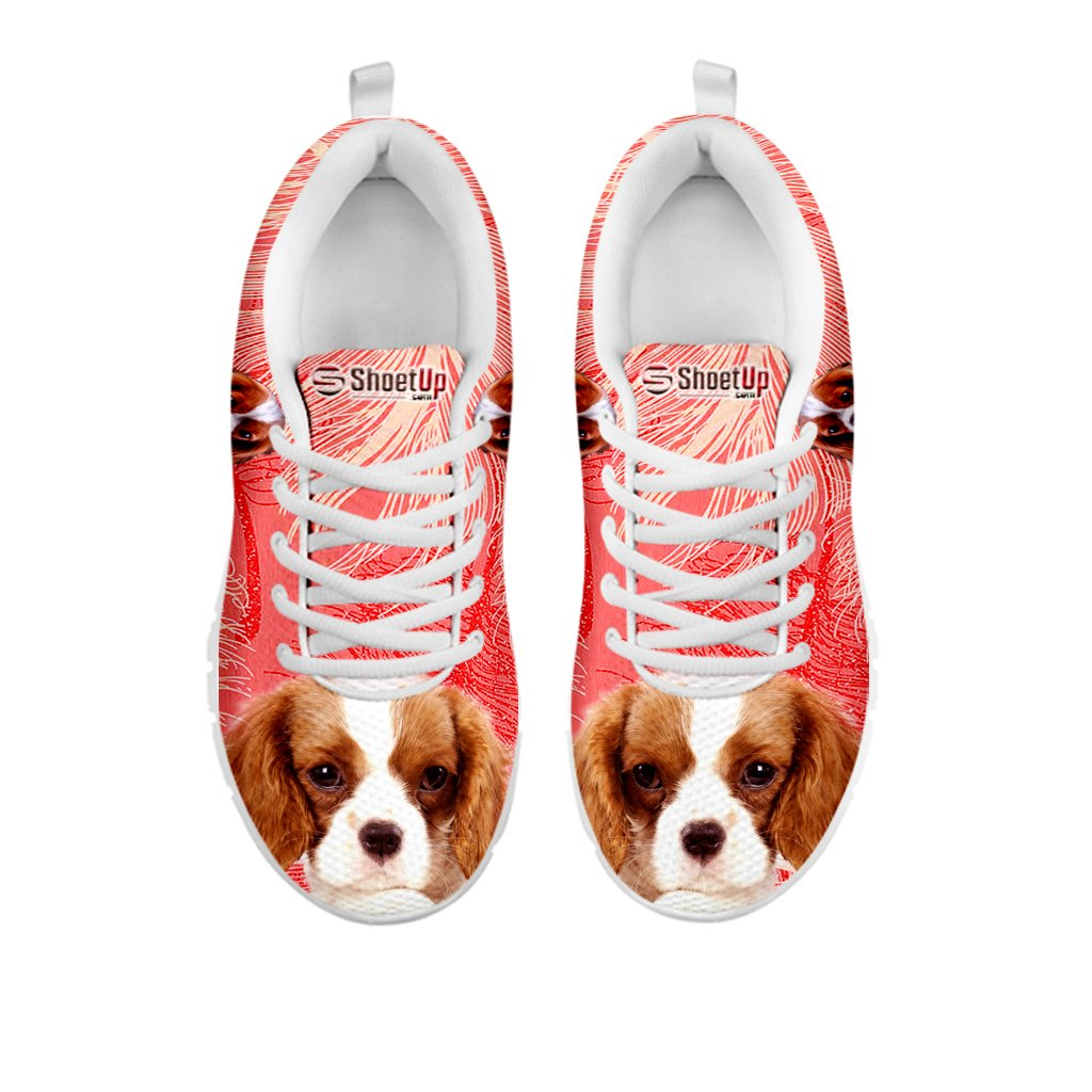 fc49d39240 Amazon.com | Kid's Sneakers - Cavalier King Charles Spaniel Print Kid's  Casual Running Shoes | Running