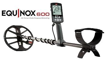MINELAB Equinox 600 Metal Detector playa agua oro monedas cercametalli