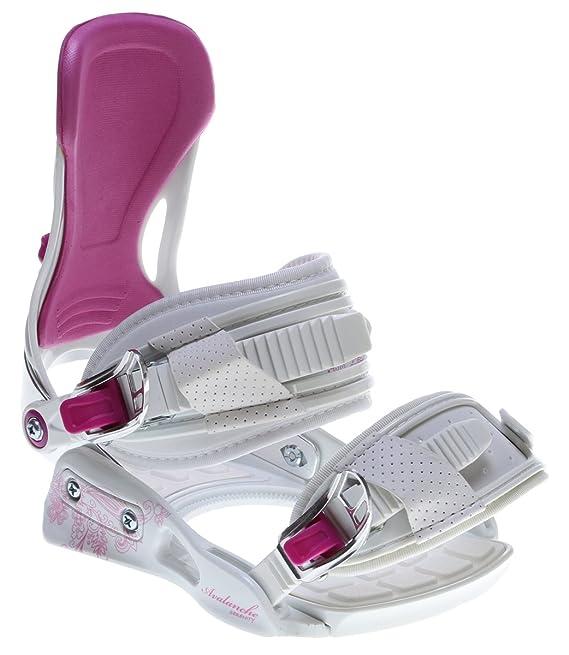 c894fc844cc3 Santa Cruz Suave Eyes 147 Womens Snowboard + Avalanche Serenity White  Bindings - Fits Boot Sizes  6