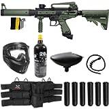 Maddog Tippmann Cronus Tactical Titanium Paintball Gun Marker Starter Package