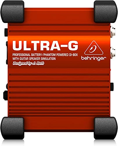 Behringer Ultra-G GI100 Professional Battery/Phantom Powered DI-Box