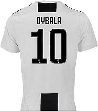 Camiseta de Fútbol Paulo Dybala 10 Juventus Home Temporada 2018-2019 Replica Oficial con Licencia - Todos Los Tamaños NIÑO y Adulto (2 AÑOS): Amazon.es: Ropa y accesorios