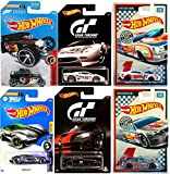 Hot Wheels Racing Circuit Exclusive & Video Game Exotic Series Gran Turismo Need For Speed & Forza Ford Falcon / Pro Stock Camaro / Jaguar / Dodge Viper 6 cars