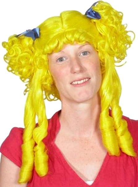 Unisex para adulto Fancy diseño de princesas Disney Diseño con forma de Cenicienta peluca de belleza para Halloween tipo libro con función de colochos: ...