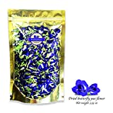 buy Premium Thai Herb Organic Dried Butterfly Pea Flowers Tea, (3.55 oz.)Use to Cook, For Thai Food, Beverage, Cake or Cookie now, new 2018-2017 bestseller, review and Photo, best price $12.99