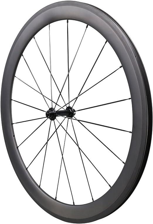 IMUST 50mm Aero 700C Carbono Bicicleta Carretera Ruedas Clincher ...