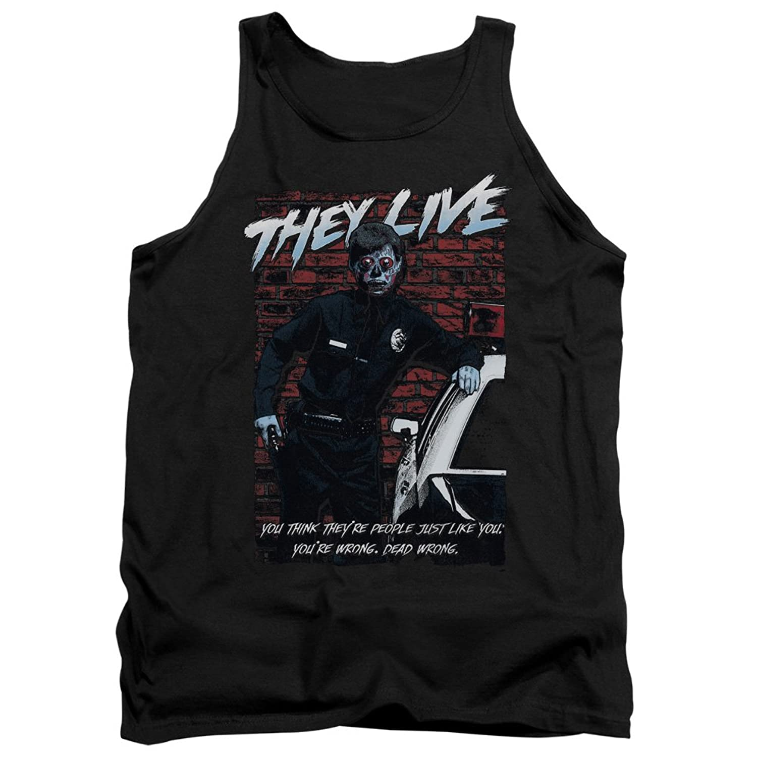 They Live - Mens Dead Wrong Tank Top