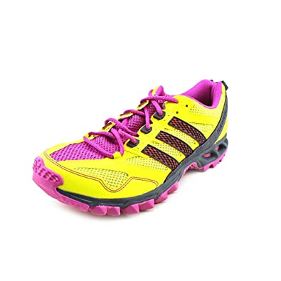 the best attitude 71ce8 184e2 adidas New Kanadia 5 TR Lime Pink Ladies 6.5