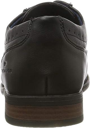 Tom Tailor 7980001, Zapatos de Cordones Derby para Hombre