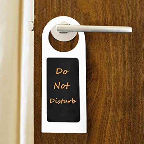 Mini Chalkboard Blackboard Door Knob Hanger Sign, 7u0026quot; Long Pack Of 10.  U0026quot