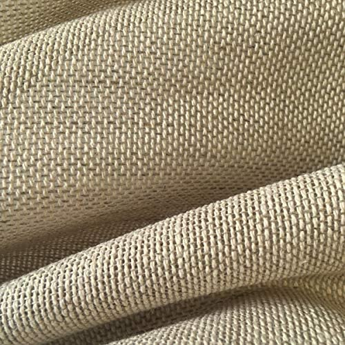 Tela por metros de cortina - Visillo - 40% lino, 60% algodón ...
