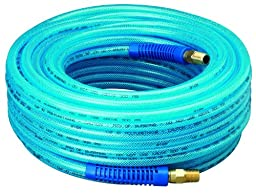 Amflo 12-100E Blue 300 PSI Polyurethane Air Hose 1/4\