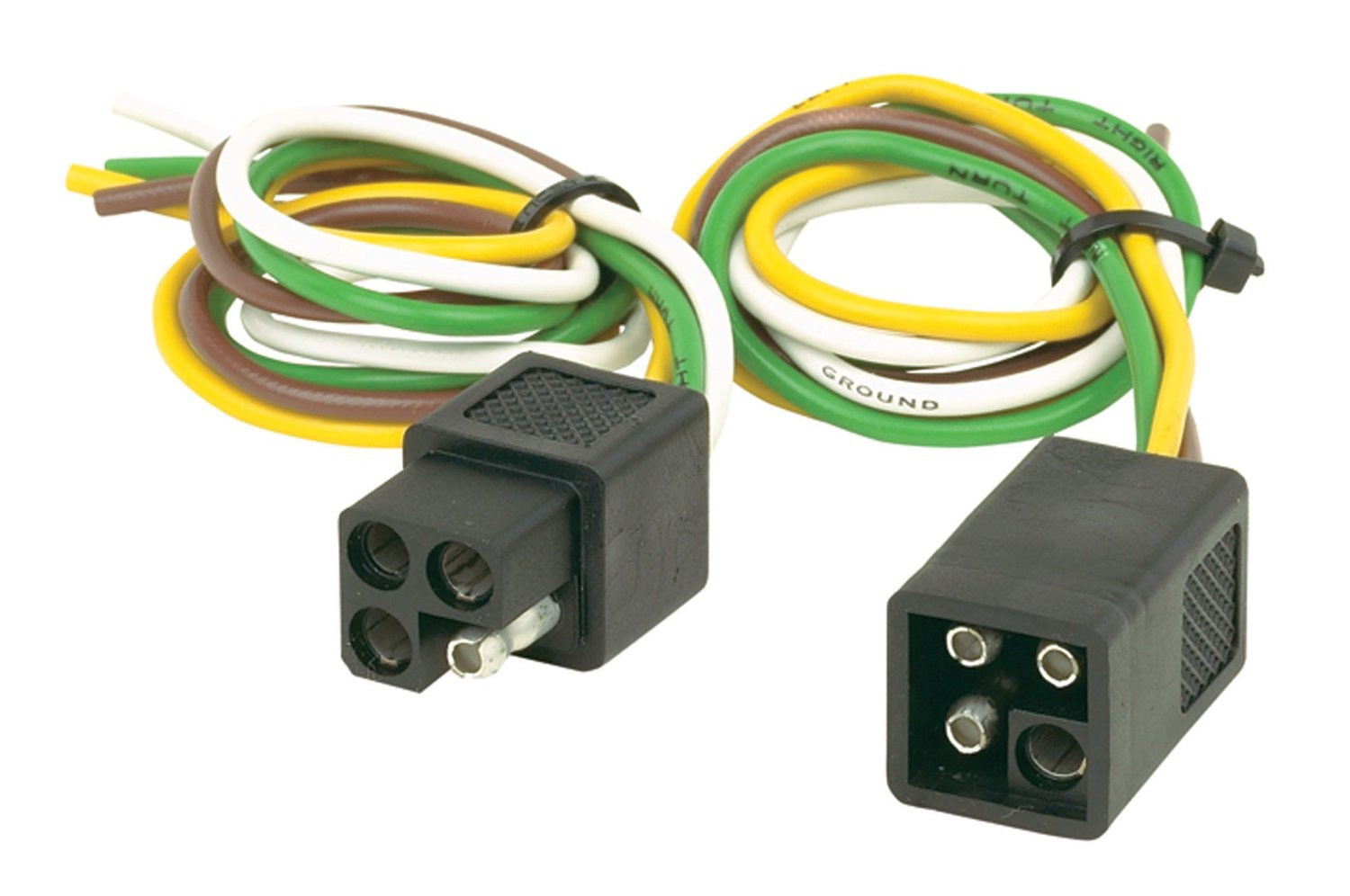 614xEPUSF9L._SL1500_ amazon com hopkins 11147975 4 pole square set automotive hopkins wire harness at cita.asia
