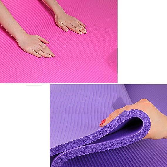 SXXDERTY-tappeto Estera de Yoga con Correa y Bolsa 185x80cm ...