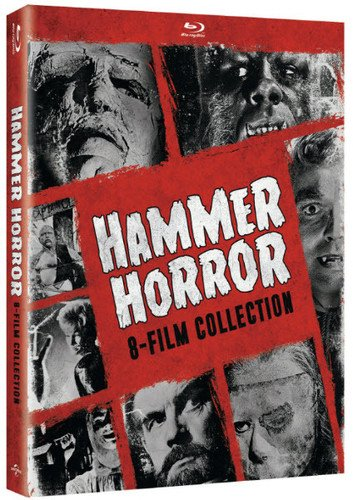 Blu-ray : The Hammer Horror Series: 8-Film Collection (Boxed Set, Snap Case, 4 Disc)