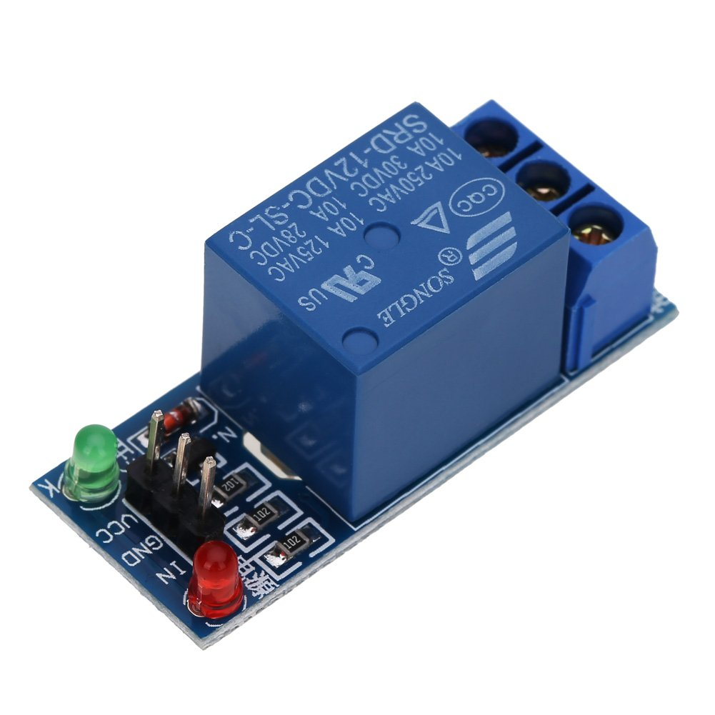 AVR 5 Mikrocontroller-Entwicklungsplatinenmodule von Everpert mit 12 V und 1 Kanal f/ür PIC DSP und ARM