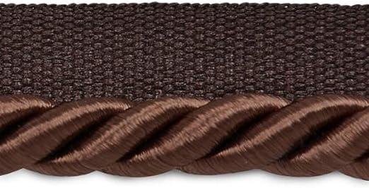Basic Trim Lip Cord 36 Ft // 11M DecoPro 12 Yard Value Pack of 3//16 Style# 0316S Color: Black K9 .5cm