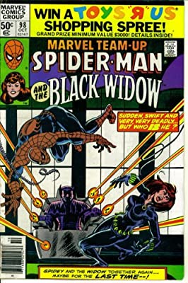 Amazon Com Marvel Team Up 98 Featuring Spider Man And