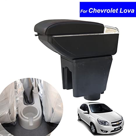 Amazon Szss Car Leather Car Center Console Armrest Box For