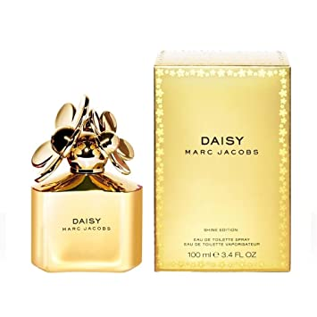 Marc Jacobs Daisy Shine Edition Gold Agua de Colonia - 100 ...