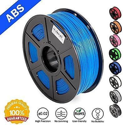 Filamentos ABS para impresora 3D, filamento ABS amarillo SUNLU, 1 ...