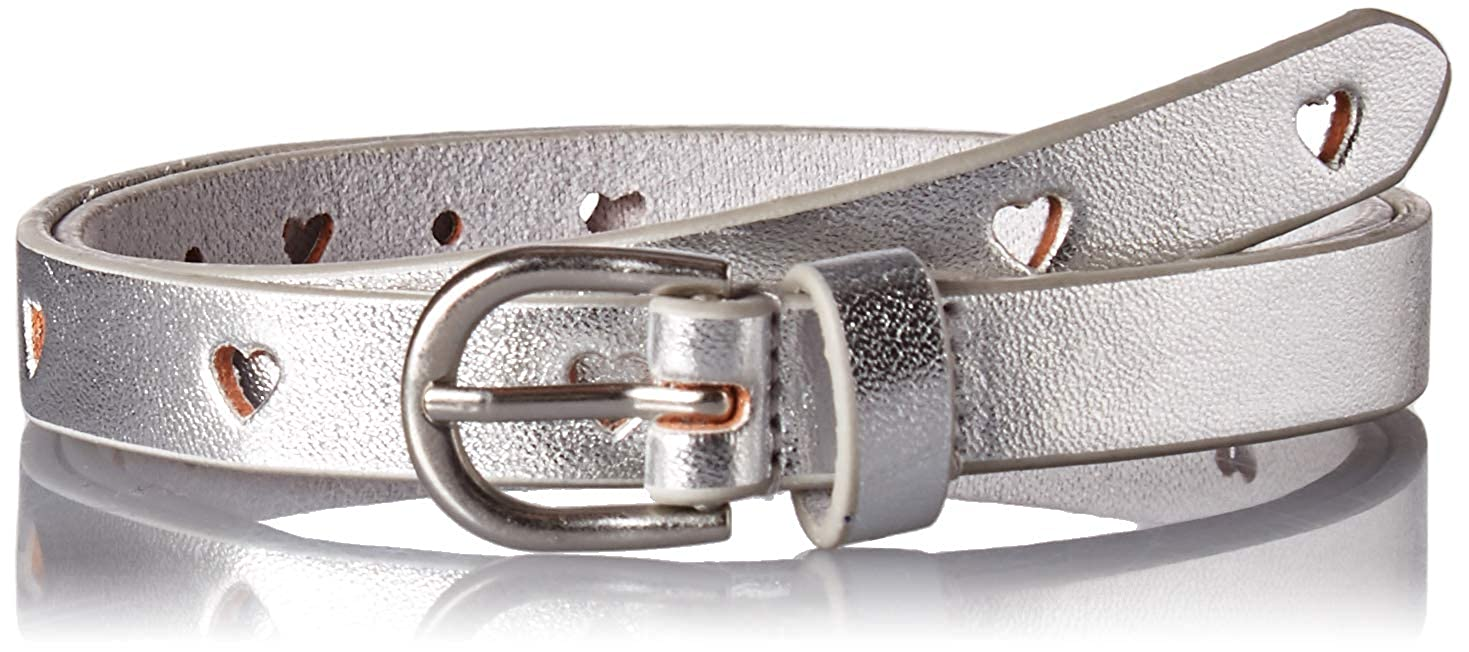 Carter's Toddler Girls Adjustable Perferated Heart Belt, Silver, 2-5 Years Carter' s CR04173-205-AMZ