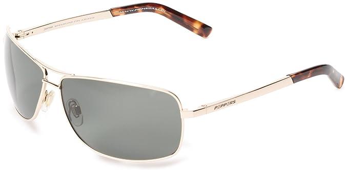 Pimientos Kona polarizadas gafas de sol de aviador: Amazon ...