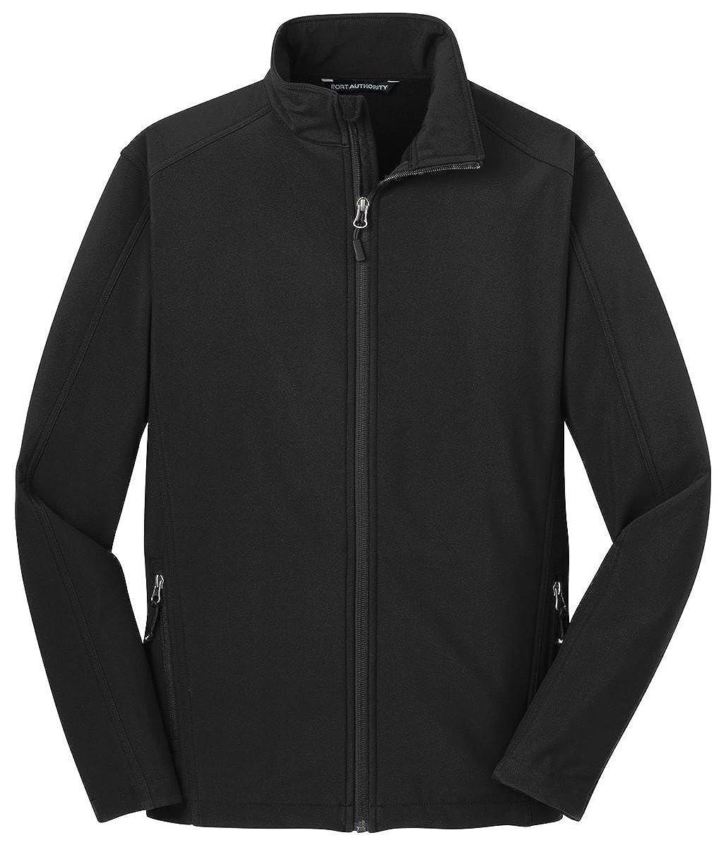 Port Authority Tall Core Soft Shell Jacket3XLT Black TLJ317