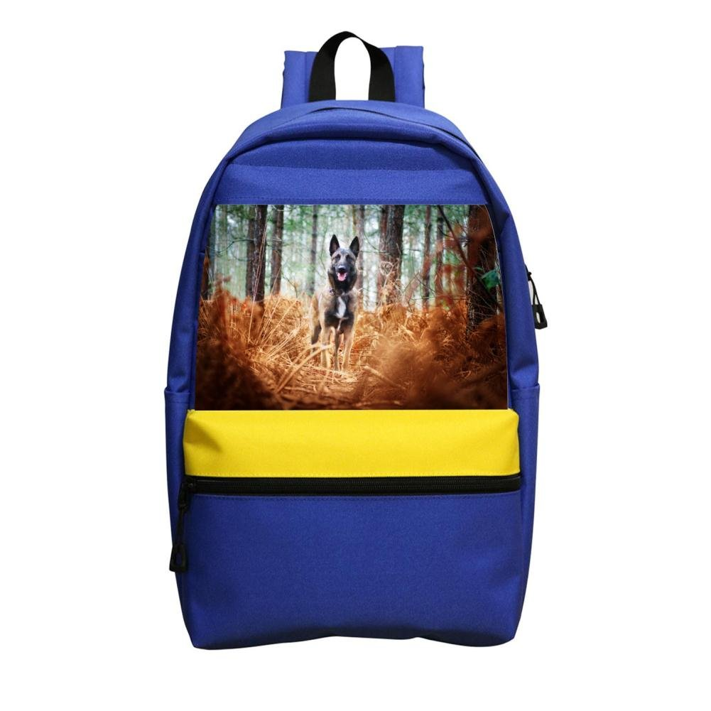 Durable Dog Muzzle Pet Big Capacity Canvas School Backpacks for Kid Child